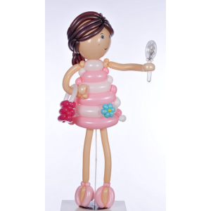 Lufifigura - Kislány