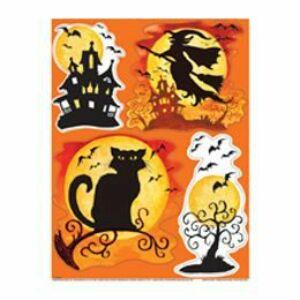 Halloween Mintás Ablakdekoráció