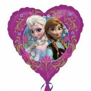 Jégvarázs - Disney Frozen Love - Fólia Lufi - 43 cm