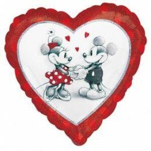 Mickey & Minnie Szerelmes  Lufi, 46 cm