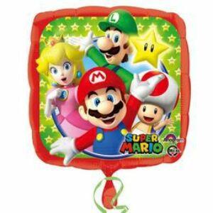 Super Mario és Csapata Héliumos Fólia Lufi
