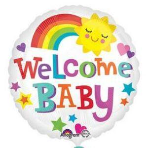 Welcome Baby Fólia Lufi Babaszületésre