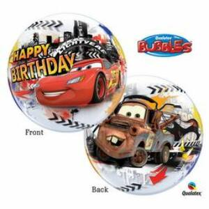 Disney Verdák - Születésnapi Bubbles Léggömb