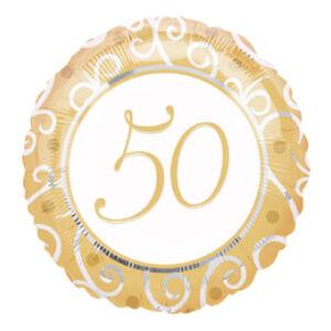 50. Házassági Évfordulóra Számos Fólia Léggömb