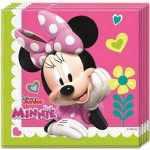 Szalvéta - Minnie - Rózsaszín - 33 Cm X 33 Cm, 20 Db-Os