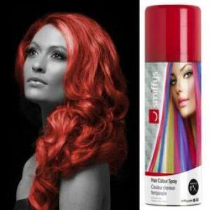 Neon Piros Hajszínező Spray