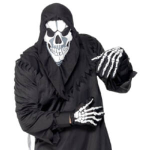 Csontváz Maszk és Kesztyű
