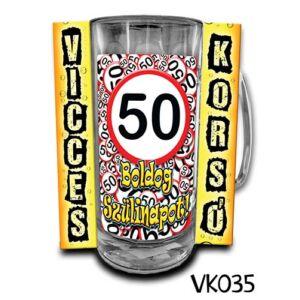 Vicces Korsó - Boldog 50. Szülinapot