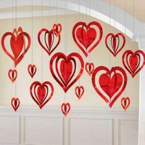 3D Szívek Dekorációs Szett