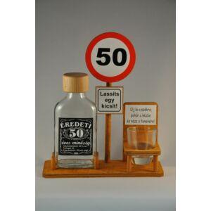 Laposüveg Táblával 50. Szülinapra