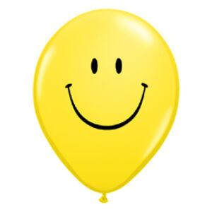 Smile Face Sárga Gumi Lufi