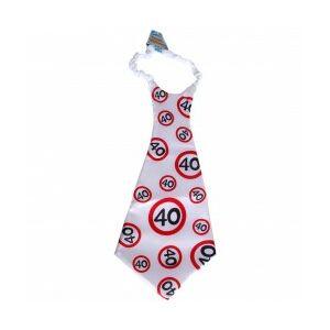 Óriás Szülinapi Nyakkendő 40. Születésnapra