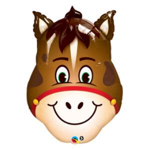 32 Inch-Es Hilarious Horse - Vidám Ló Fej Fólia Lufi