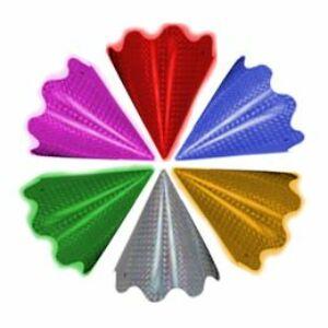 Hologramos Parti Csákó - Színes (5 db/csomag)