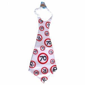 Óriás Születésnapi Sebességkorlátozó Nyakkendő 70.