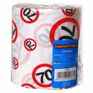 Születésnapi WC Papír 70-Es Számos Sebességkorlátozó
