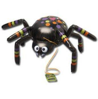 Sétáló Lufi - Fekete Pók