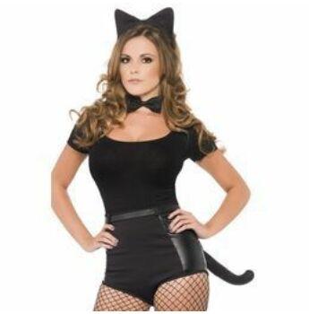 Cica Szett - Fekete