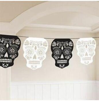 Függő Dekoráció - Halloween - Mexikói Halottak Napja