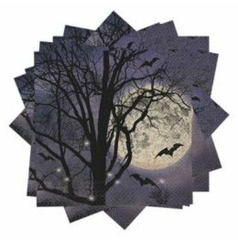 Szalvéta - Kísérteties Éjszaka  - 33 cm x 33 cm, 16 db-os