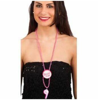 Pink Bride To Be Nyaklánc Síppal