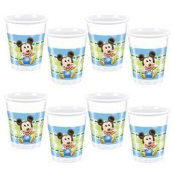 Parti pohár - Mickey Baby Parti - 8 db