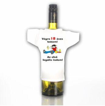 Üvegpóló 18 - Az első legális italom...
