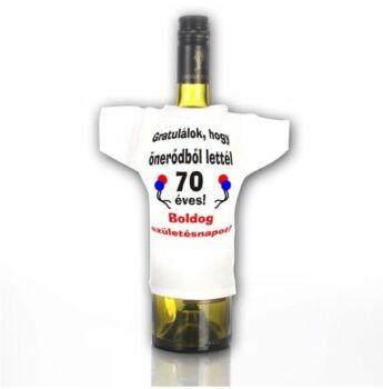 Üvegpóló 70 - Gratulálok, hogy önerőből lettél...
