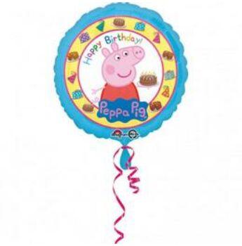 Fólia Lufi - Peppa Malac - Happy Birthday! - 43cm
