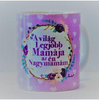 Bögre  - A világ legjobb nagymamája...