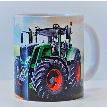 Bögre - Zöld traktor