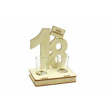 Pálinkás Pohár Szett Születésnapra - 18