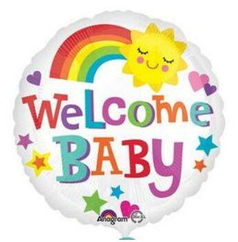 Fólia Lufi - Babaszületés - Welcome Baby - 46cm