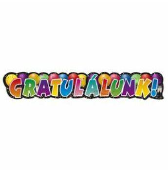 Gratulálunk! Feliratú Banner