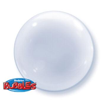 Buborék Lufi - Deco - Átlátszó Lufi - 51cm