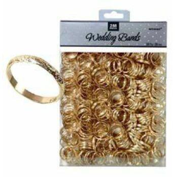Esküvői Asztaldekoráció - Arany Karikagyűrű