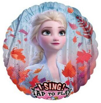 Jégvarázs 2 Éneklő fólia lufi, Frozen éneklő lufi.