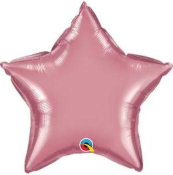 Fólia Lufi - Egyszínű Csillag - Mályva (Chrome) - 51 cm