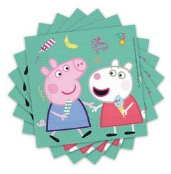 Peppa Pig Szalvéta -  20 db-os