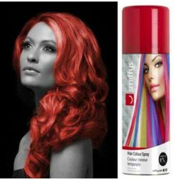 Hajszínező Spray Kimosható - Piros