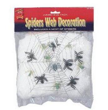 Pókháló - Világító - Pókokkal