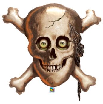 Koponya És Csontok - Halloween Fólia Lufi