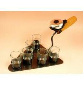 Fém italszett - vakolókanál