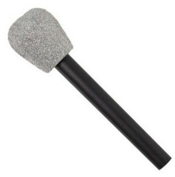 Mikrofon - Ezüst Csillámos