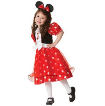 Minnie Egér Parti Jelmez Gyerekeknek L-es