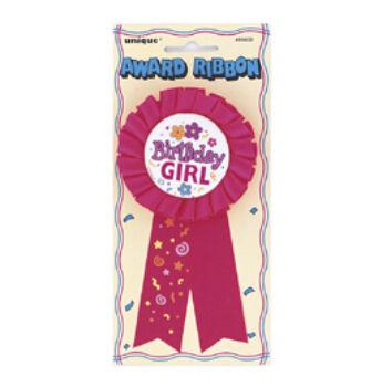 Birthday Girl Feliratú Szülinapi Kitűző