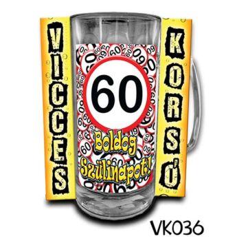 Korsó - Boldog 60. Szülinapot