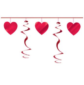 Szív És Spirál Szerelmes Füzér - 2,7 M