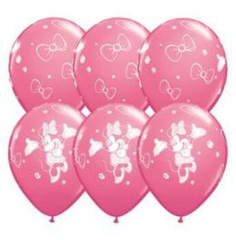 Gumi Lufi - Csomag - Disney Minnie - 28cm - 6db/csomag