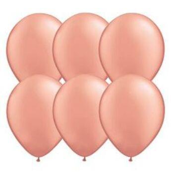 Gumi Lufi - Egyszínű - Rózsaarany - 28cm